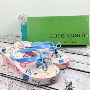 Kate Spade Rhett Wedge Sandal Flip Flip